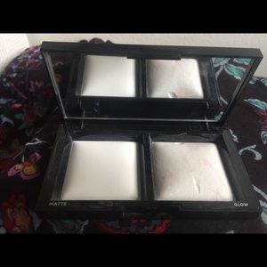 Bare minerals highlight and translucent powder